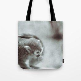 Quiet Monkey Tote Bag