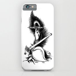 Krishna Symbol_T size iPhone Case