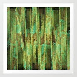 Greeny Dreams Art Print