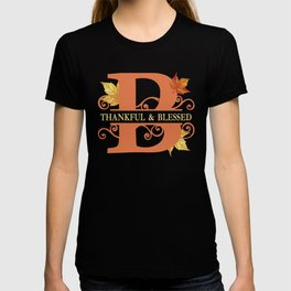 Thanksgiving B Monogram T-shirt