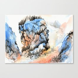 Mountscape Canvas Print