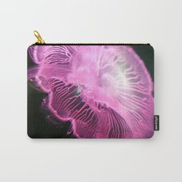Glowing Magenta Jellyfish I Carry-All Pouch