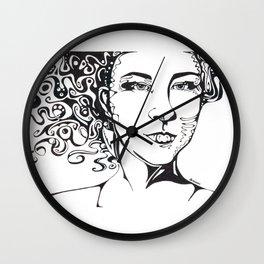 Its the Hair Wall Clock