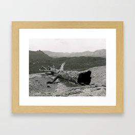 When Love Burns Framed Art Print