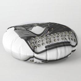 Typewriter Floor Pillow