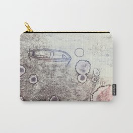Boat  Grunge Carry-All Pouch
