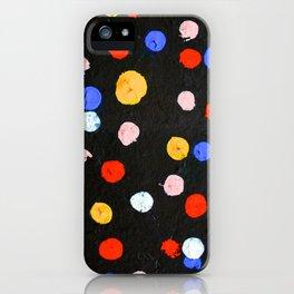 Graffiti Dots iPhone Case
