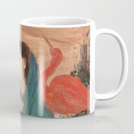 Edgar Degas Young Woman With Ibis Coffee Mug