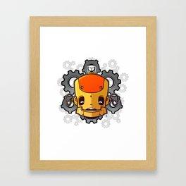 Brass Munki - Bot015 Framed Art Print