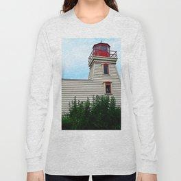 Lighthouse in the Garden Long Sleeve T-shirt