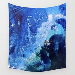 Little Polar Bear, Tiny World Environmental Collection Wall Tapestry
