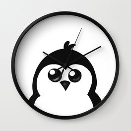 Little Penguin Wall Clock