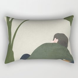 Lost in my own Mind Rectangular Pillow
