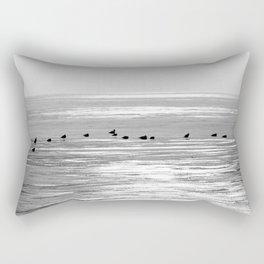 Espera para la primavera Rectangular Pillow