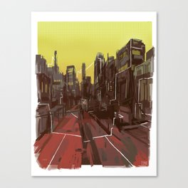 Interconnectivity Canvas Print