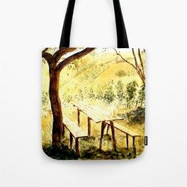 Wineyards Tote Bag