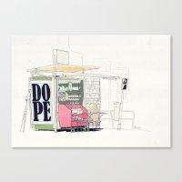 random Canvas Prints featuring Random by Anton Marrast