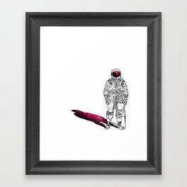 The astonaut Framed Art Print
