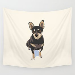 Mr. Mouse the Chihuahua Dog Wall Tapestry