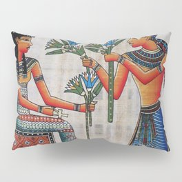 Isis On Papyrus Pillow Sham