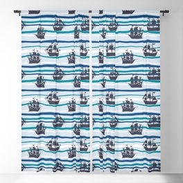 Pirates of the Seven Seas Blackout Curtain