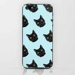 Black Cat Appreciation Day iPhone Skin