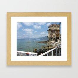 Scilla, Italy Framed Art Print