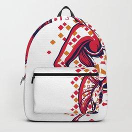 Spartan Warrior Woman Backpack