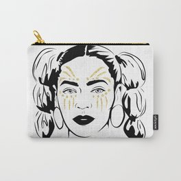 Queen B Tribe Carry-All Pouch