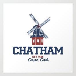 Chatham, Massachusetts Art Print