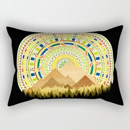 Disc Nature Rectangular Pillow