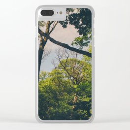 A frame within a frame Clear iPhone Case