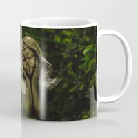fairy Mugs featuring Fairy by Mark Spence