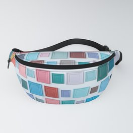 Color on the wall Fanny Pack