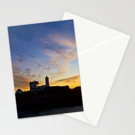 Nubble lighthouse 2 Stationery Cards