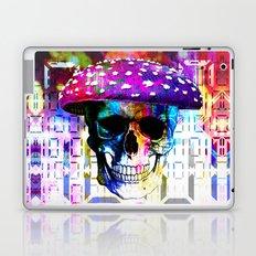 digital mushroom Laptop & iPad Skin