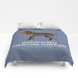 Wirehaired Pointing Griffon Comforters