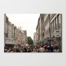 Busy Munich  Canvas Print