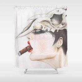 killer queen. Shower Curtain