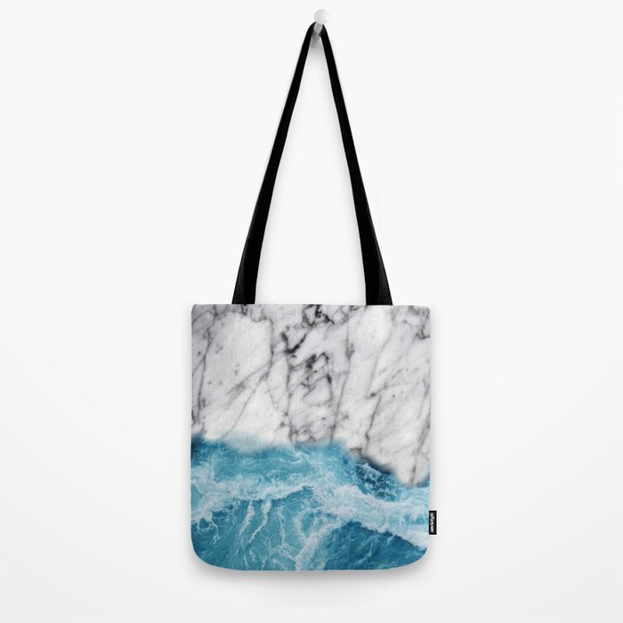 Marble sand Tote Bag
