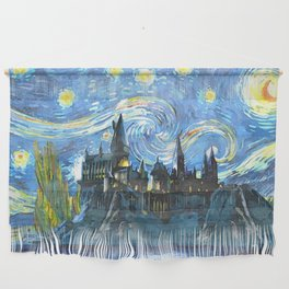 Night Castle Wall Hanging