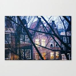 AMSTERDAM / Houses Canvas Print