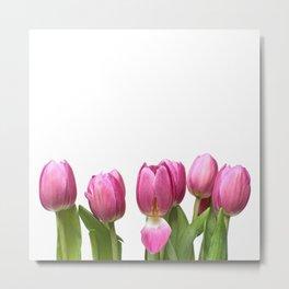 Tulips in Space.... Metal Print