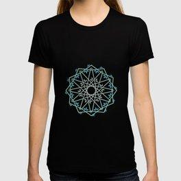 Decorative leaf Mandala T-shirt