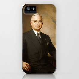 President Harry Truman iPhone Case