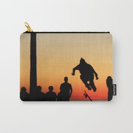 Sunset Skater Carry-All Pouch