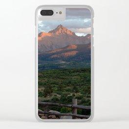 Mount Sneffels Clear iPhone Case