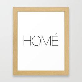 Homay. Framed Art Print