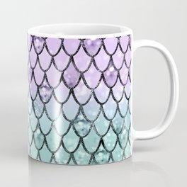 Mermaid Princess Glitter Scales #2 #shiny #pastel #decor #art #society6 Coffee Mug