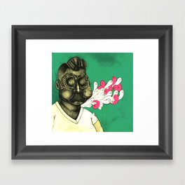 Haunted Fatso Framed Art Print